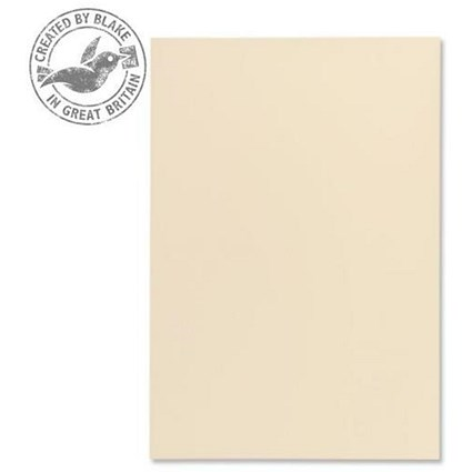 Blake Premium A4 Paper / Wove Finish / Cream / 120gsm / Ream / 500 Sheets / 3 packs for the price of 2