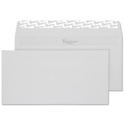 Blake Premium DL Wallet Envelopes / Laid / High White / Peel & Seal / 120gsm / Pack of 500 / 3 packs for the price of 2