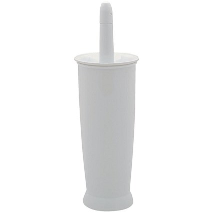 Addis Toilet Brush Set - White