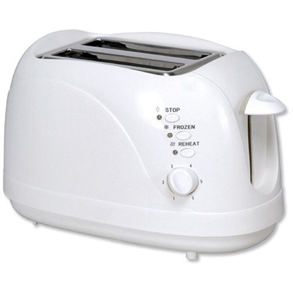 5 Star 2 Slice Toaster with Cool Wall / 700W /White