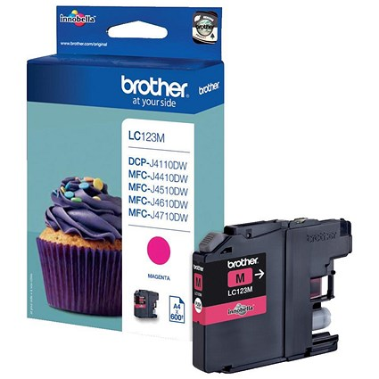 Brother LC123M Magenta Inkjet Cartridge