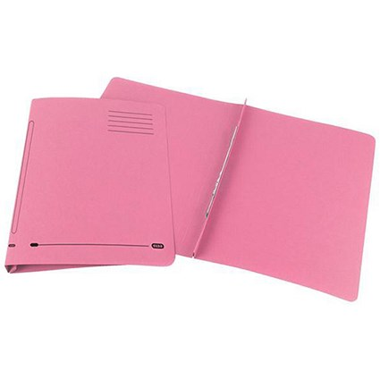 Elba Ashley Flat Files / 35mm / Foolscap / Pink / Pack of 25