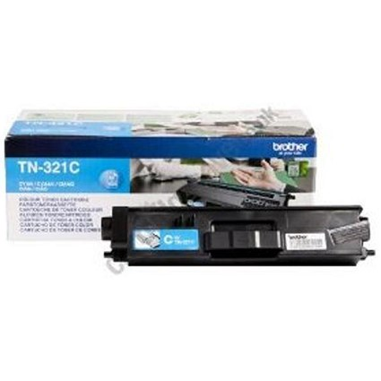 Brother TN321C Cyan Laser Toner Cartridge