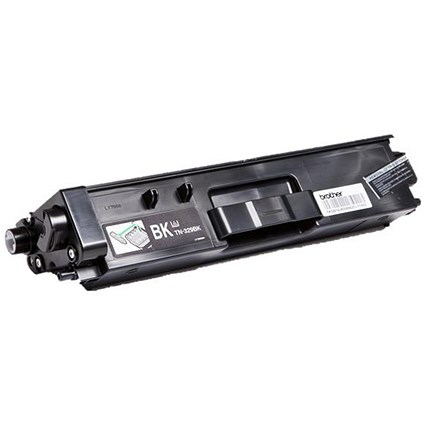 Brother TN329BK High Yield Black Laser Toner Cartridge