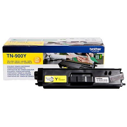 Brother TN900Y Super High Yield Yellow Laser Toner Cartridge