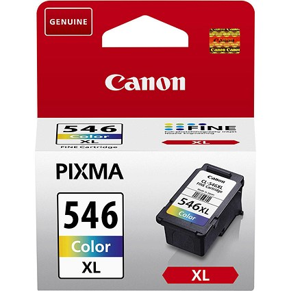 Canon PGI-546XL High Yield Colour Inkjet Cartridge