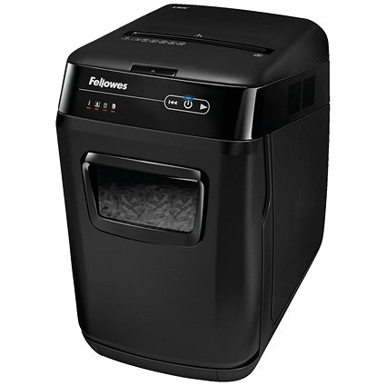 Fellowes AutoMax 130C Shredder Cross Cut 32 Litres P-4