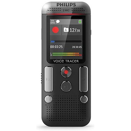 Philips DVT 2510 Digital Recorder Hands-free 8GB Colour Display Ref DVT2510