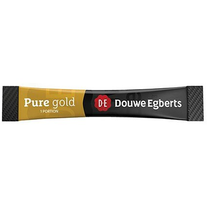 Douwe Egberts Coffee Pure Gold Stick Sachets - Pack of 200
