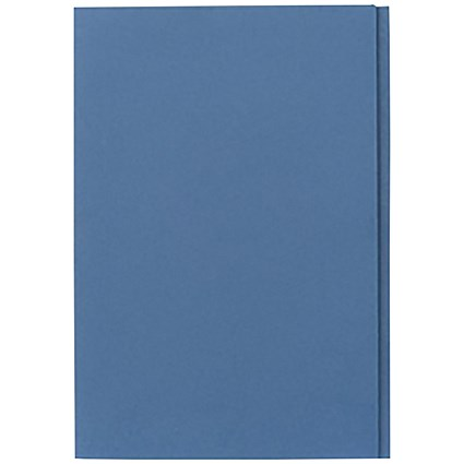 Guildhall Square Cut Folders / 315gsm / Foolscap / Blue / Pack of 100