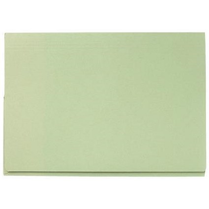 Guildhall Full Flap Legal Document Wallets, 315gsm, W356xH254mm, Green, Pack of 50