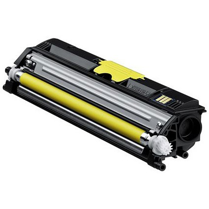 Konica Minolta A0V305H Yellow Laser Toner Cartridge