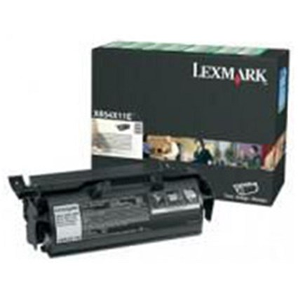 Lexmark X654X11E High Yield Black Laser Toner Cartridge