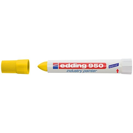 Edding 950 Industry Painter / Bullet Tip / Yellow / Pack of 10