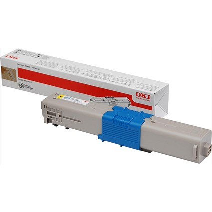 Oki 44973533 Yellow Laser Toner Cartridge