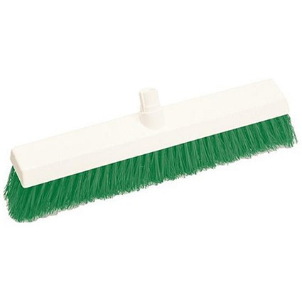 Scott Young Research Hygiene Hard Broom / 12 inch / Green