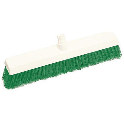 Scott Young Research Soft Broom / 12 Inch Head / Green