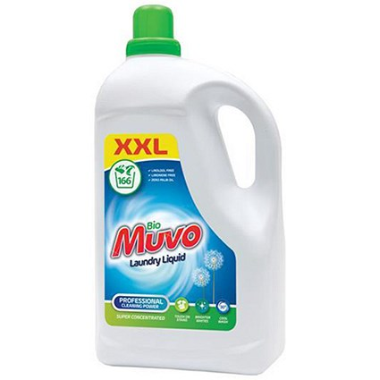 Muvo Concentrated Liquid Laundry Bio Detergent / 166 Washes / 5 Litres