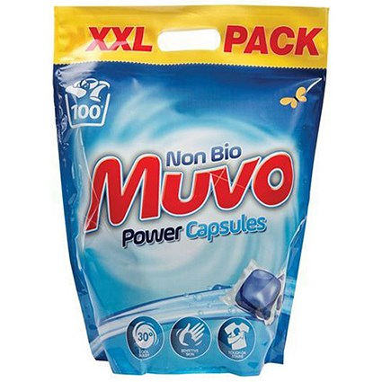 Muvo Non Biological Power Capsules / Pack of 100