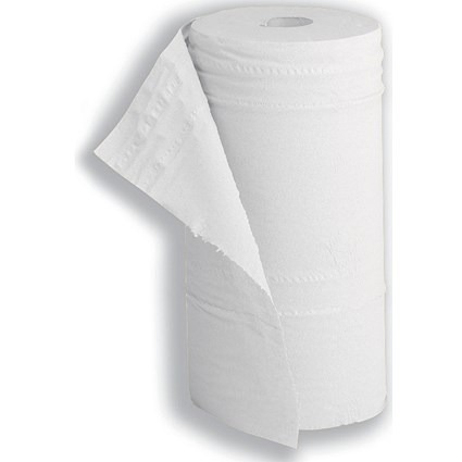 5 Star Hygiene Roll, 10inch Core, 2-Ply, 130 Sheets, White