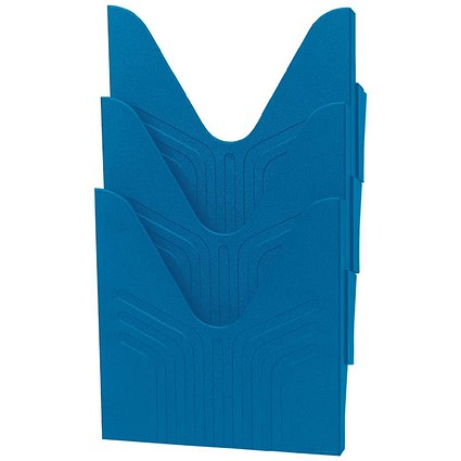 Avery Mainline Display File / A4 / Blue / Pack of 3