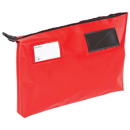 A3 Mailing Pouch with Gusset / 470 x 336 x 76mm / Red
