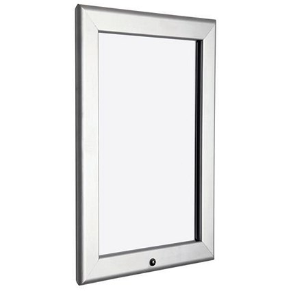 Locking Snap Frame with Allen Key & Screws / A2 / Silver