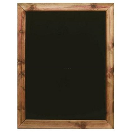 Framed Chalkboard / W420 x H592mm / Black