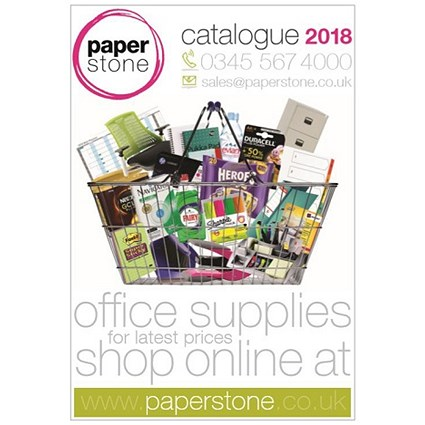 Free Paperstone A-Z 2018 Catalogue with over 20,000 products