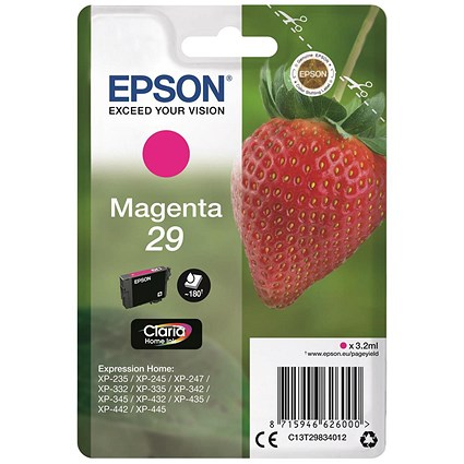 Epson 29 Magenta Inkjet Cartridge
