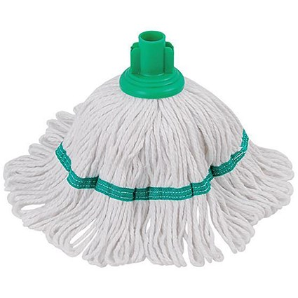 Robert Scott & Sons Hygiemix Cotton & Synthetic Yarn Mop / Socket / 200g / Green