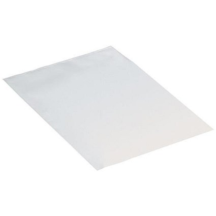 Polythene Bags / 400 Gauge / 102x152mm / Clear / Pack of 1000