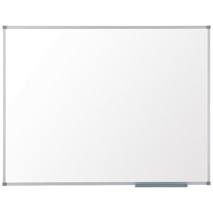 Nobo Basic Whiteboard / Aluminium Frame / W900xH600mm / White