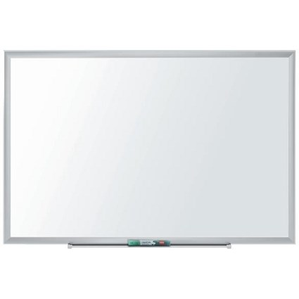 Nobo Nano Clean Steel Whiteboard, Magnetic, W1200xH900mm, White