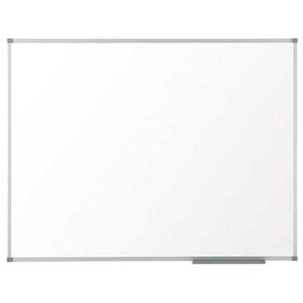 Nobo Basic Whiteboard / Aluminium Frame / W600xH450mm / White