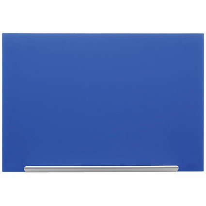 Nobo Diamond Glass Board / Magnetic / W1883xH1053mm / Blue