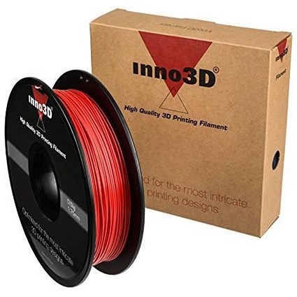 Inno3D PLA Filament for 3D Printer 1.75x200mm 0.5kg Ref 3DPFP175RD05