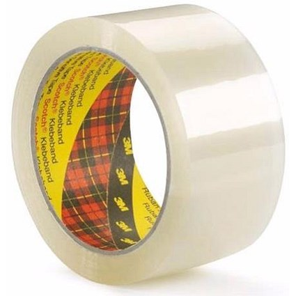 Scotch Packaging Tape / Medium-duty / Printable / Clear / Pack of 36 Rolls