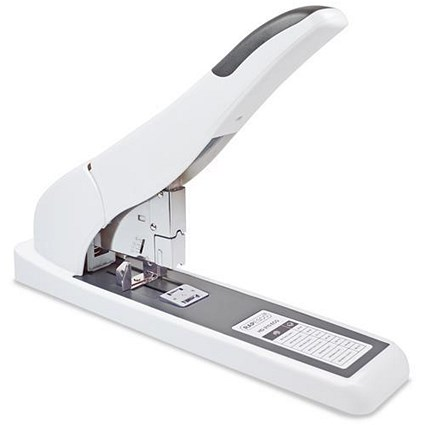 Rapesco Heavy Duty ECO 210 Full Strip Stapler / Capacity: 210 Sheets / White