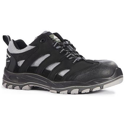 Rock Fall Maine Trainer / Size 13 / Black & silver