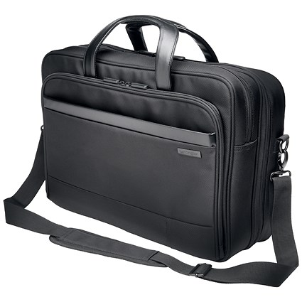 Kensington Contour 2.0 Laptop Carry Case, 17 inch Capacity, Black