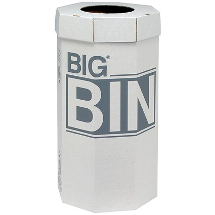 Acorn Large Bin / Flat Packed / Recycled Board / 160 Litres / Pack of 5