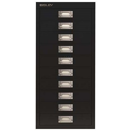Bisley SoHo 10 drawer Cabinet - Black