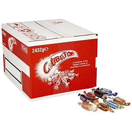 Celebrations Chocolates Bulk Pack - 2.4kg