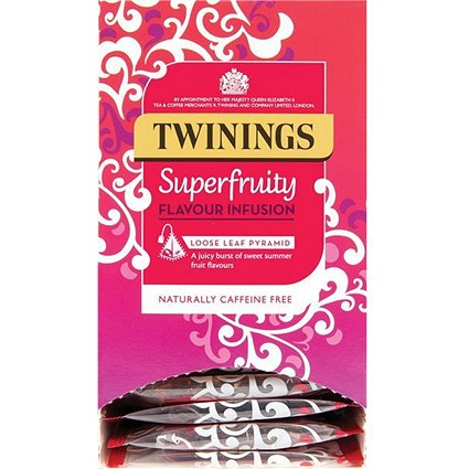 Twinings Teabags / Pure Variety Pyramid / 6 Varieties / 15 Bags Per Box