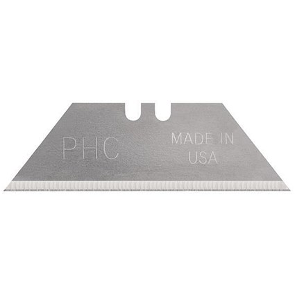 Pacific Handy Cutter Standard Utility Blade, Silver, Pack of 100