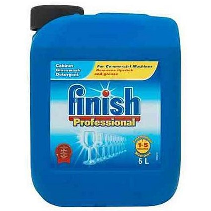Finish Professional Glasswash Detergent - 5 Litres