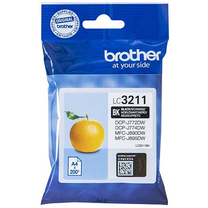 Brother LC3211BK Black Inkjet Cartridge