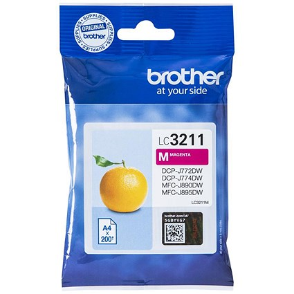 Brother LC3211M Magenta Inkjet Cartridge