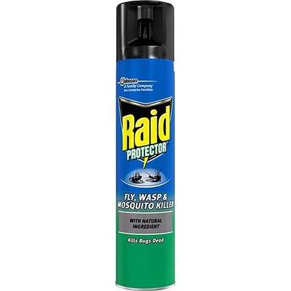 Raid Fly Wasp & Mosquito Killer Aerosol - 300ml